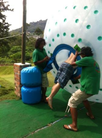 Rollerball Zorbing Phuket: ready to roll!