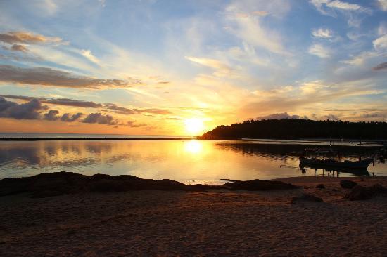 Anantara Lawana Koh Samui Resort: those sunrises were worth getting up early for..