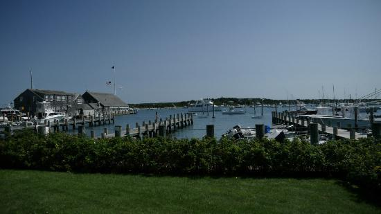 Harborside Inn: Hotel grounds