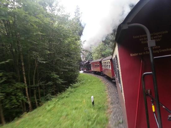 Harzer Schmalspurbahnen: Steam on an Autumn day