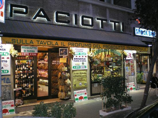 Paciotti salumeria rome italy updated 2017 top tips for Via paciotti roma