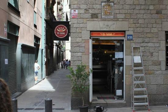 front entrance to El Casal