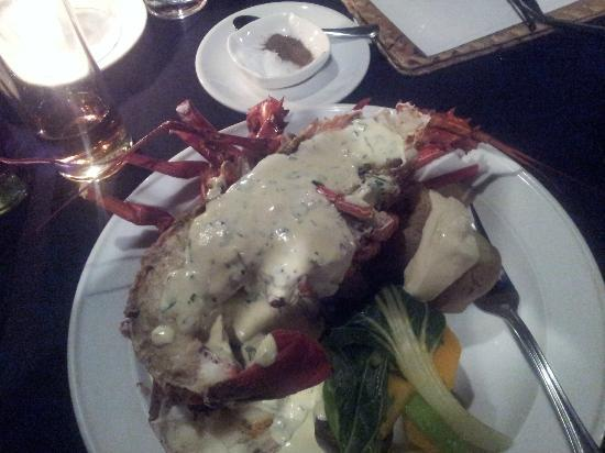 Le Lagoto Resort & Spa: giant lobsters!