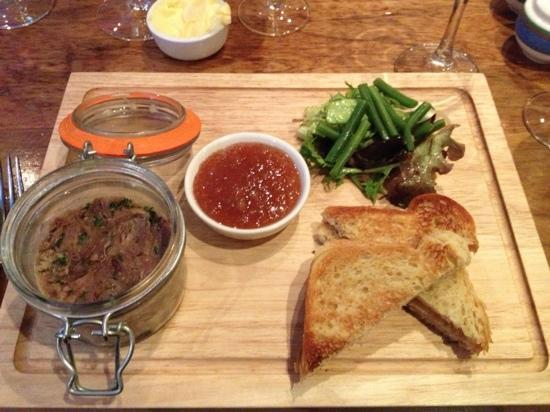 KC Blakes: Potted duck and foie gras