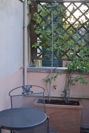 Hotel Donatello: Balcony