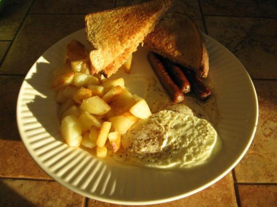 Shamrock Farms Bed and Breakfast: Breakfast