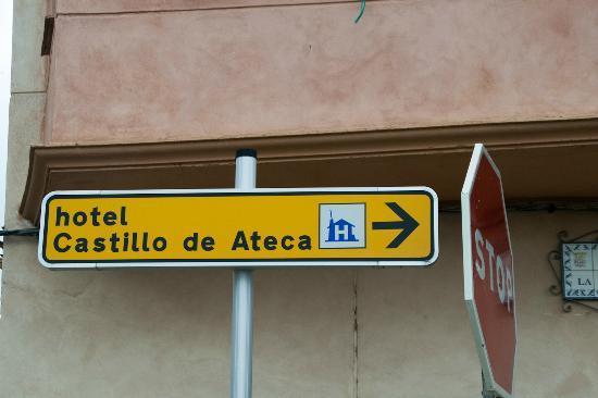 Hotel Castillo de Ateca: Señales