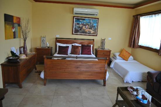 Palm Breeze Villa Boracay Hotel: Nasz pokój /room
