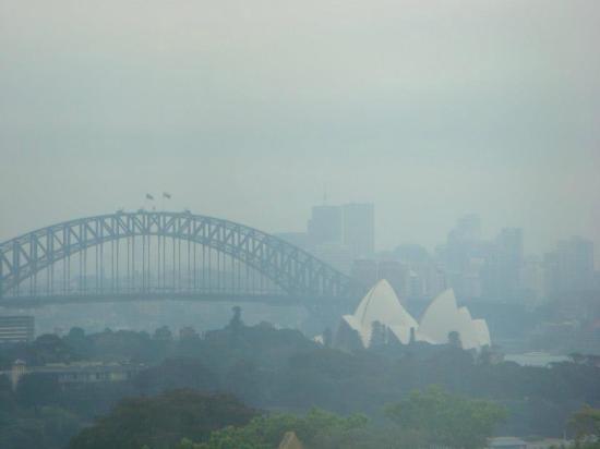 Mercure Sydney Potts Point: Vista desde nuestra habitación