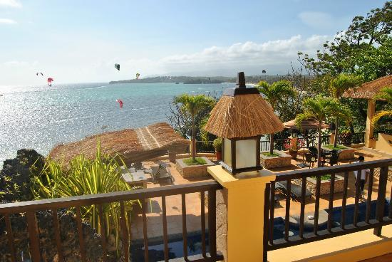 Palm Breeze Villa Boracay Hotel: Widok/view