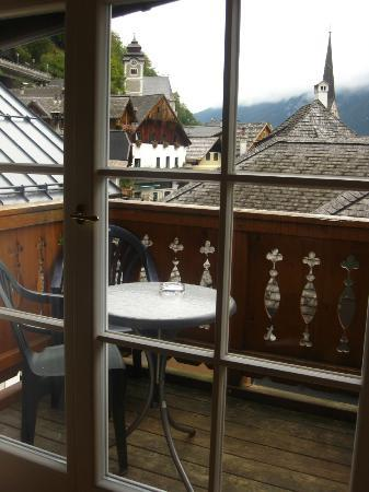 Gasthof Weisses Lamm: the balcony