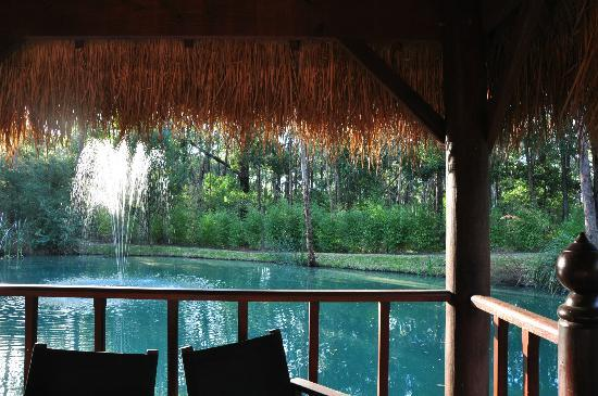 Balinese Retreat: By the lake