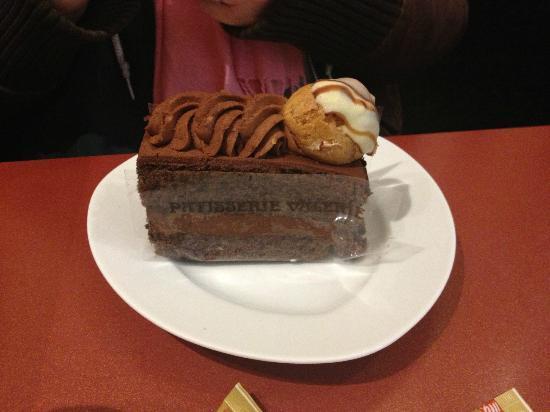 Patisserie Valerie: chocolate cake