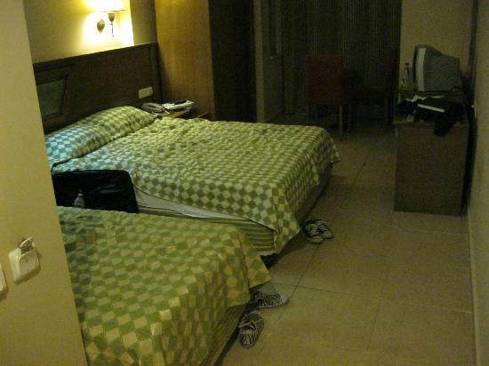 Eken Resort Hotel: our room (was tidier, before i entered it hehe)