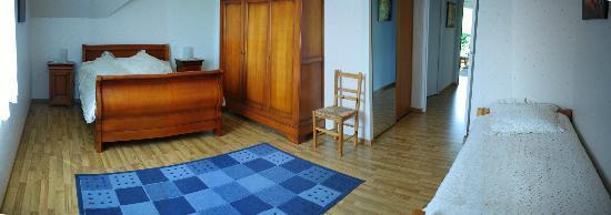 Le Chene Plat : Chambre Laurane