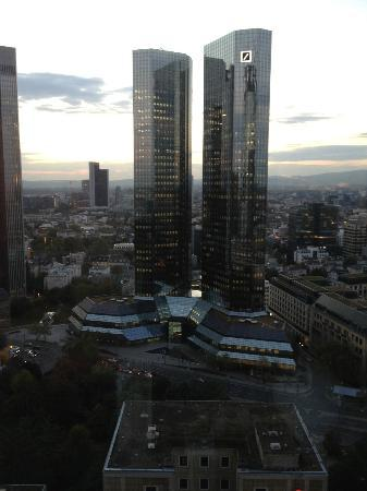 Innside by Melia Frankfurt Eurotheum: View from room looking west