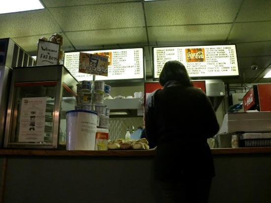 Ordering, Fat Boy Restaurant