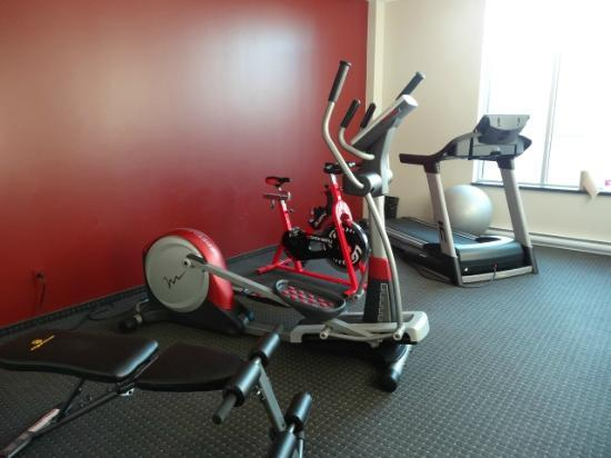 Grand Times Hotel: gym are