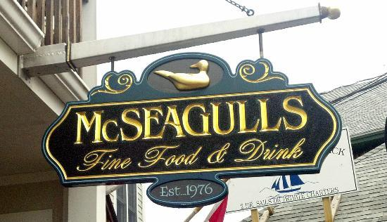 McSeagull's - Boothbay Harbor MAINE