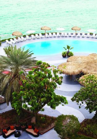 Sheraton Djibouti Hotel: La piscine est psychédélique