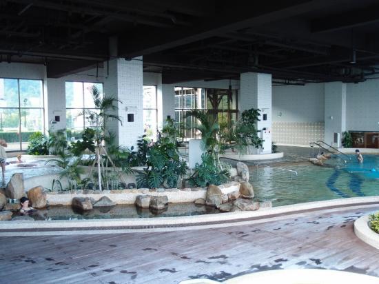 Evergreen Resort Hotel - Jiaosi: big spa area