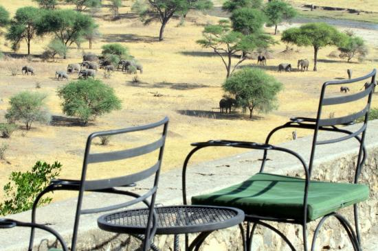 Tarangire Safari Lodge: View from Terrace