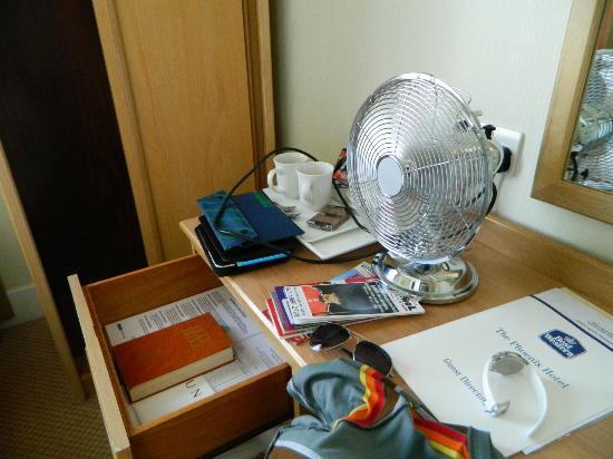 Phoenix Hotel: El famoso ventilador