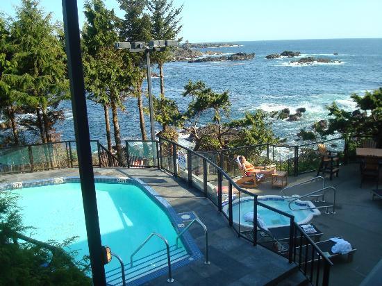 Below Our Room Picture Of Black Rock Oceanfront Resort