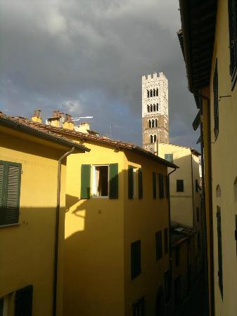 Albergo San Martino: Aussicht gegen die Kathedrale (2. OG)