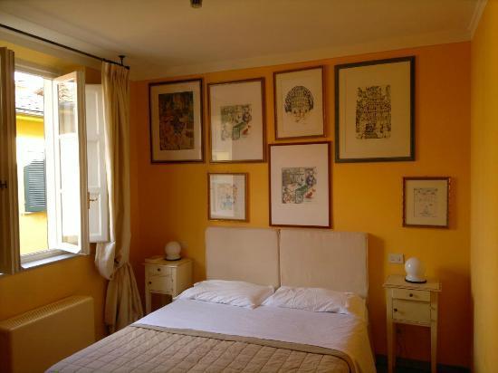 Albergo San Martino: Unser Zimmer (2.OG)