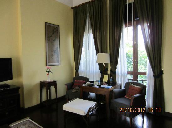 Baan Klang Wiang : Sitting Corner