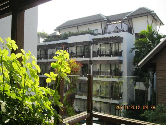 RarinJinda Wellness Spa Resort: View from balcony