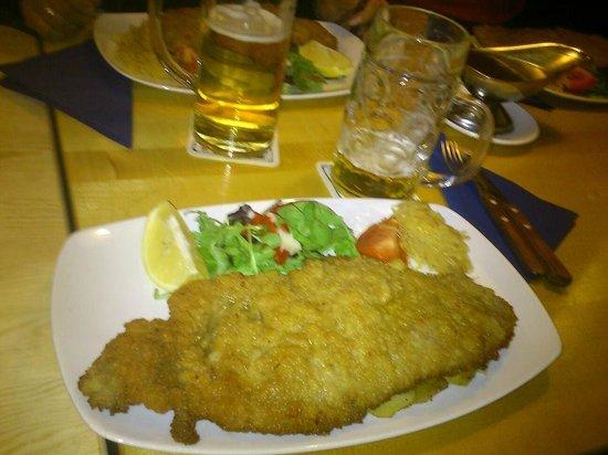 Restaurang Rauhrackel: Wienersnitzel