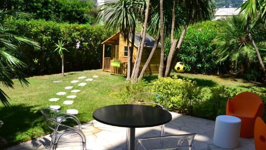 Le Massena Residence Cannes : Jardin