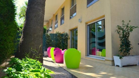 Le Massena Residence Cannes: Espace détente