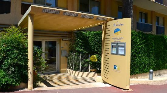 Le Massena Residence Cannes: L'entrée de la résidence