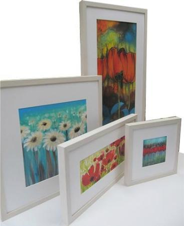 Fiona Turley, Gallery Crafts : Some of Fiona's Paintings on silk..