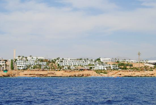 Hilton Sharm Waterfalls Resort: View from the Sea