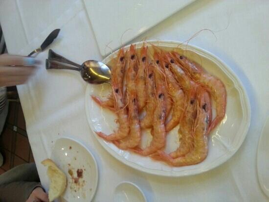 Restaurante Elkano: cigalas