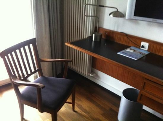 Hotel Krafft Basel: Coin bureau année 60