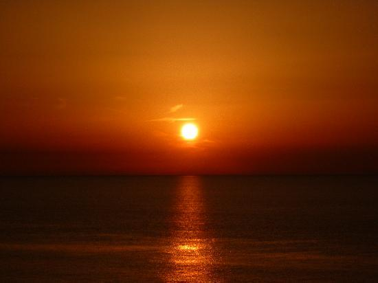 Hotel Rhodos Horizon Resort: Another beautiful sunset