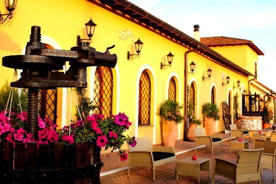 Pomezia, Italie : Casale Donna Nina