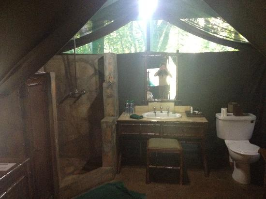 andBeyond Kichwa Tembo Tented Camp: Our tent 