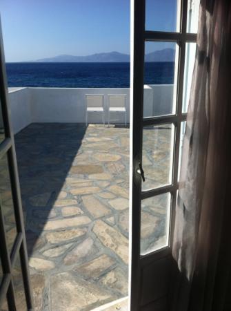 Mykonos Bay Hotel: verandah