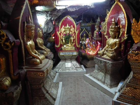 Kalaw, Myanmar: Shweoomin Pagoda (cave), Kalow
