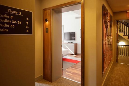 hallway Chandler Studios