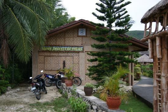 Bodos Bamboo Bar Resort: adventure tour area