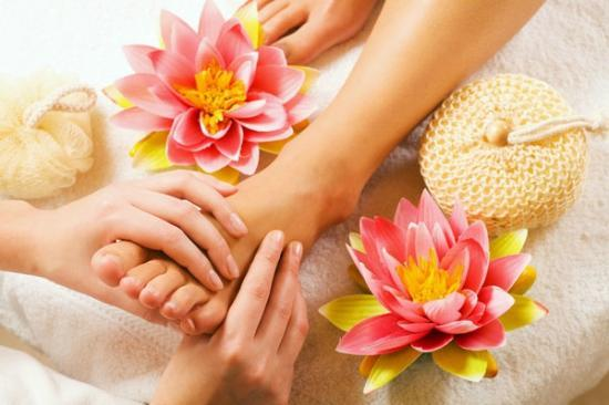Thai Rose Spa : foot massage
