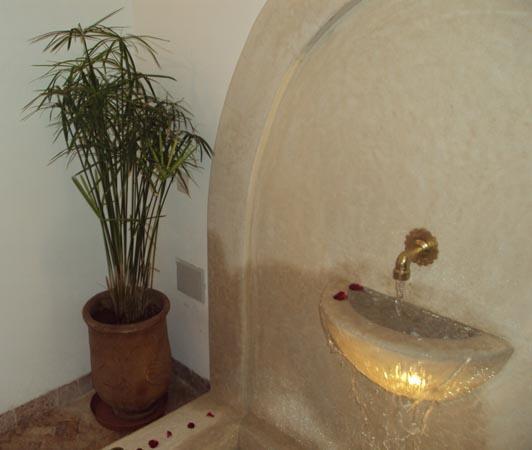 Dar Abchar: fontaine