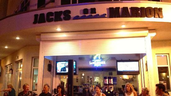 Jack's on Marion : Jacks on Marion outside bar